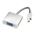 CONEXION MINI DISPLAY PORT MACHO - VGA HEMBRA, 0,2m