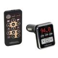 EMISOR FM PARA REPRODUCTOR MP3 - EXPLORACIÓN AUTOMÁTICA - USB/PUERTO SD (SDHC) /MINIJACK- MANDO A DISTANCIA