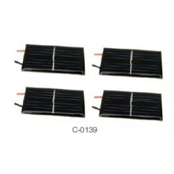 CELULA SOLAR CON SELLADO EPOXI C-0139