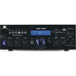 AMPLIFICADOR HI-FI  USB/SD + RADIO FM + BLUETOOTH